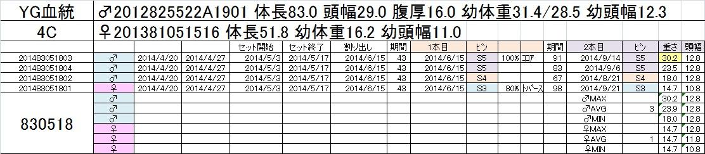 2014-15 2本目交換 4C