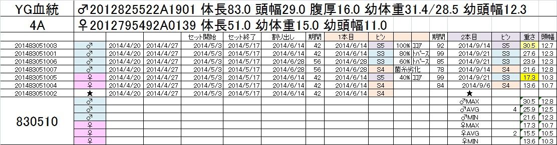 2014-15 2本目交換 4A