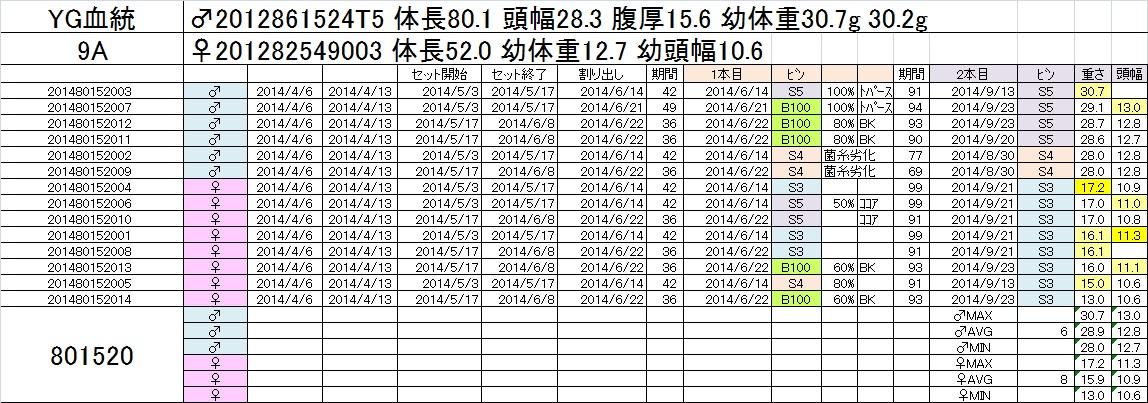 2014-15 2本目交換 9A