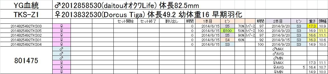 2014-15 2本目交換 TKS-Z1