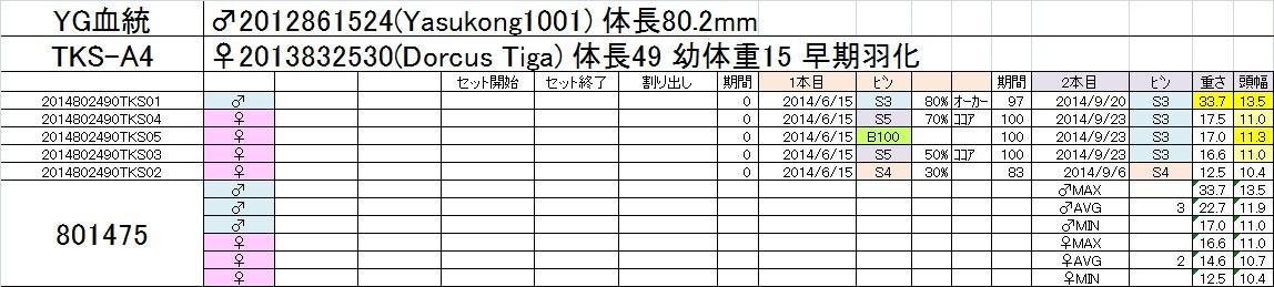 2014-15 2本目交換 TKS-A4