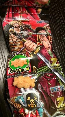 ワンピースお菓子1