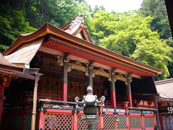 談山神社。拝殿