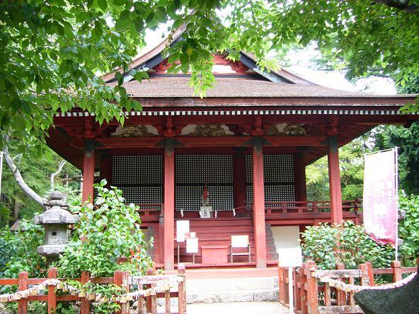 談山神社。恋神社