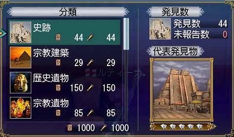 発見物1000到達(´∀`_)v