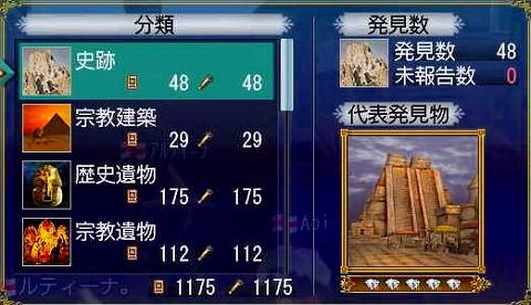 AOIさん現在の発見物総数(´▽`_)ノ
