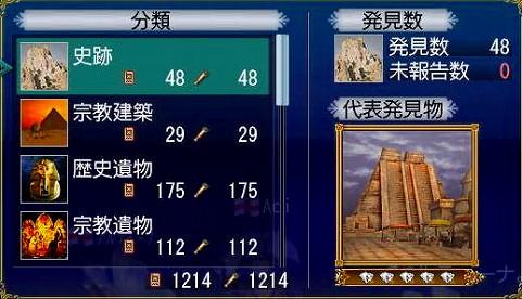 AOIさんの現時点発見物総数(´▽`_)