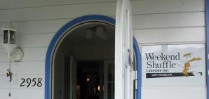 ウィークエンドシャッフル玄関