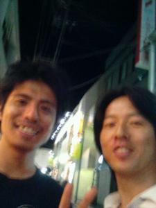哲太郎 と俺
