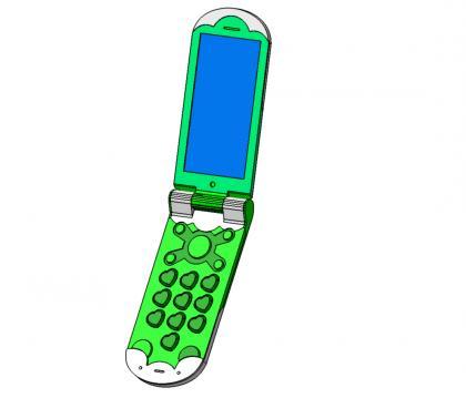 まゆり携帯正面