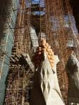 Sagrada Familia scaffolding