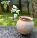 野焼先尖土器花器