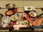 一日目の夕食