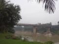 ホテルから見た橋