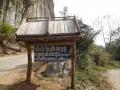 Tham Pha Thok caveの看板