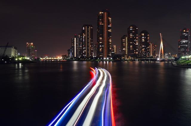隅田川の夜景 040
