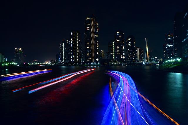 隅田川の夜景 044