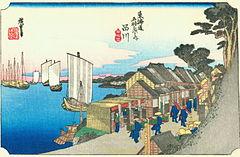 240px-Hiroshige02_shinagawa.jpg