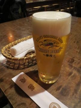 スワン 生ビール 700円