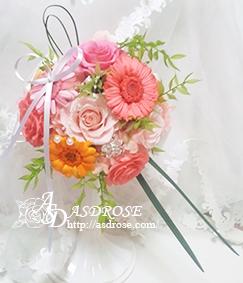 転職 歓送迎会 お祝いの花 贈り物