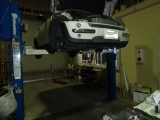 BMW mini R50 ブッシュ&アライメント1