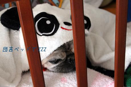 ベッドでZZZ
