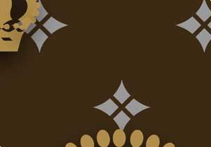 キングクイーン十字架ゆりモノグラム