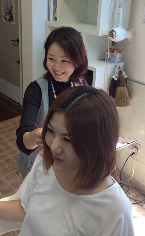 髪のカウセリング(ホームページ)1