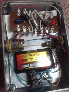 Tone Bender MK1.5中身