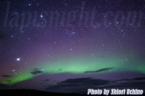 オーロラ、パンスターズ彗星、アンドロメダ銀河