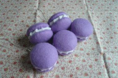 マカロン紫2