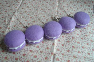 マカロン紫1