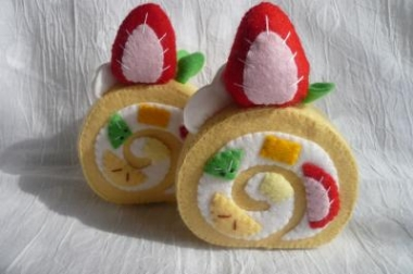 ロールケーキ完成3