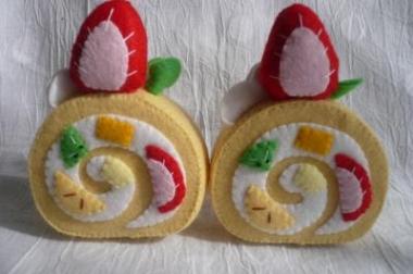 ロールケーキ完成2