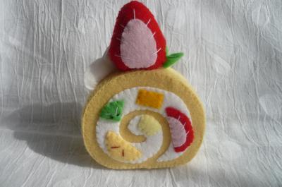 ロールケーキ完成1