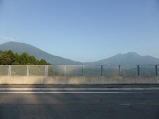 妙高山と黒姫山