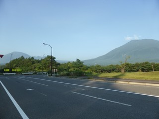 黒姫山と飯縄山