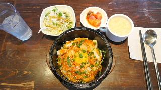 いか味噌キムチ石焼ビビンバ