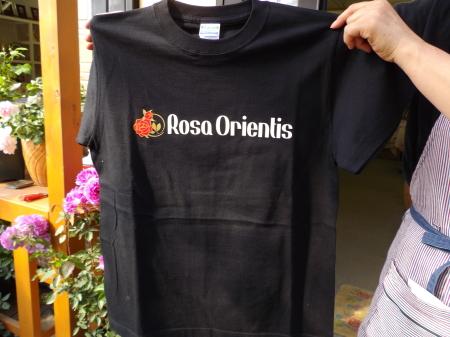 ロサオリエンティスTシャツ