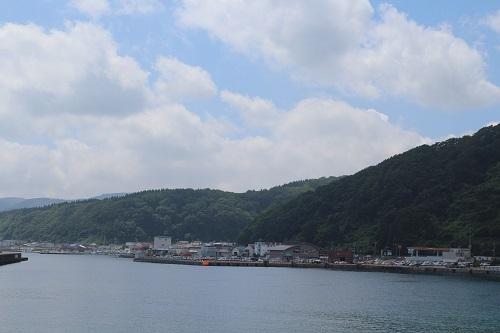 奥尻島全景