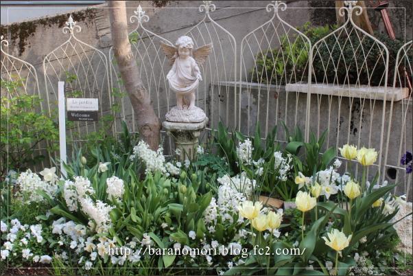 庭の花 ホワイトガーデン 20130416