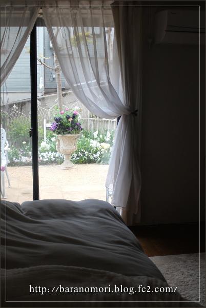 寝室から見える景色