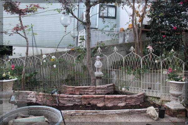 庭づくり メインガーデン 20131121