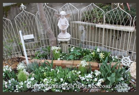 庭づくり ホワイトガーデン 20130403
