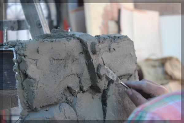 モルタル造形教室 20131117