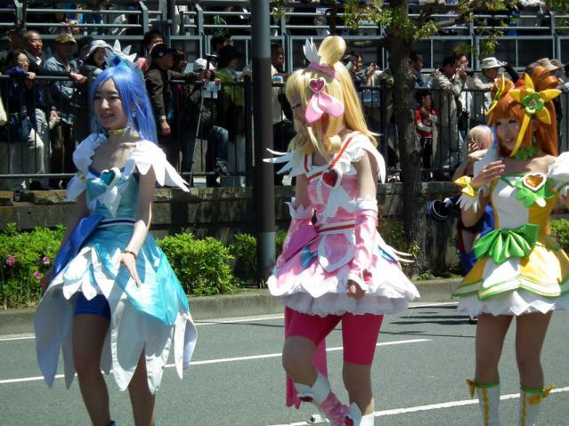 ザよこはまパレード2013 ヨコハマカワイイパレード(1)