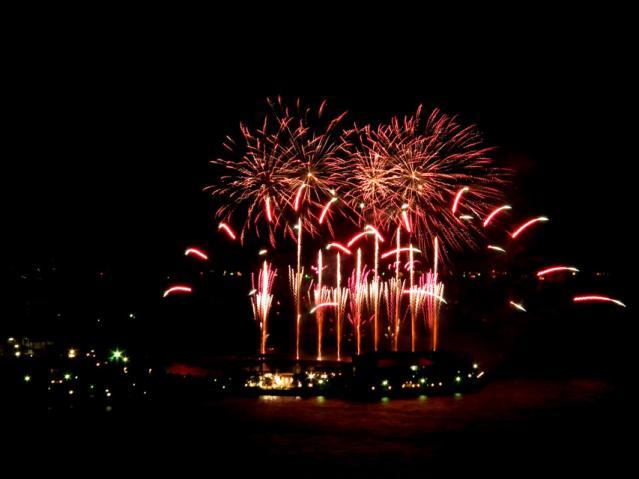 2013年春 八景島シーパラダイスの花火(2)