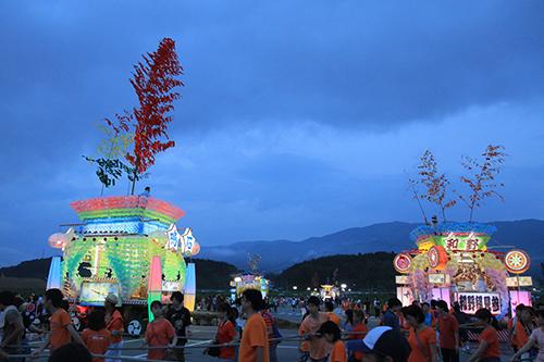 s27夜の七夕祭り、江戸時代から続いているこのお祭りも来年はできない(復興工事のため)