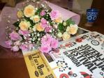 リョウヘイからのP花束