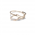 R601 Leaf gold filled ring (4)